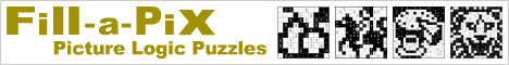 Play Fill-a-Pix and Pic-a-Pix at Conceptis Puzzles